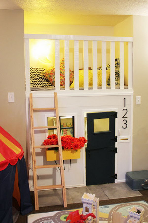 10 Cool Indoor Playhouse Ideas For Kids