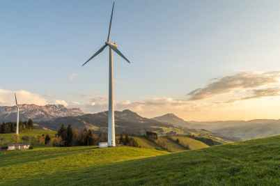 alternative energy countryside farm field