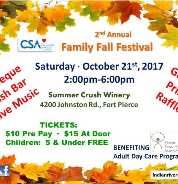 2nd Annual Family Fall Festival