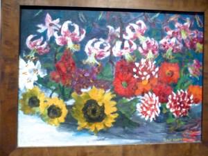 Hamburg Kunsthalle Emil Nolde Herbstblumen 1957