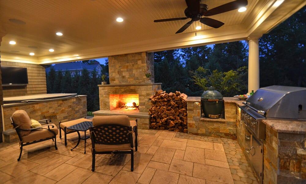Outdoor Living Spaces Design & Landscaping NJ | Sponzilli on Outdoor Living Designer id=95206