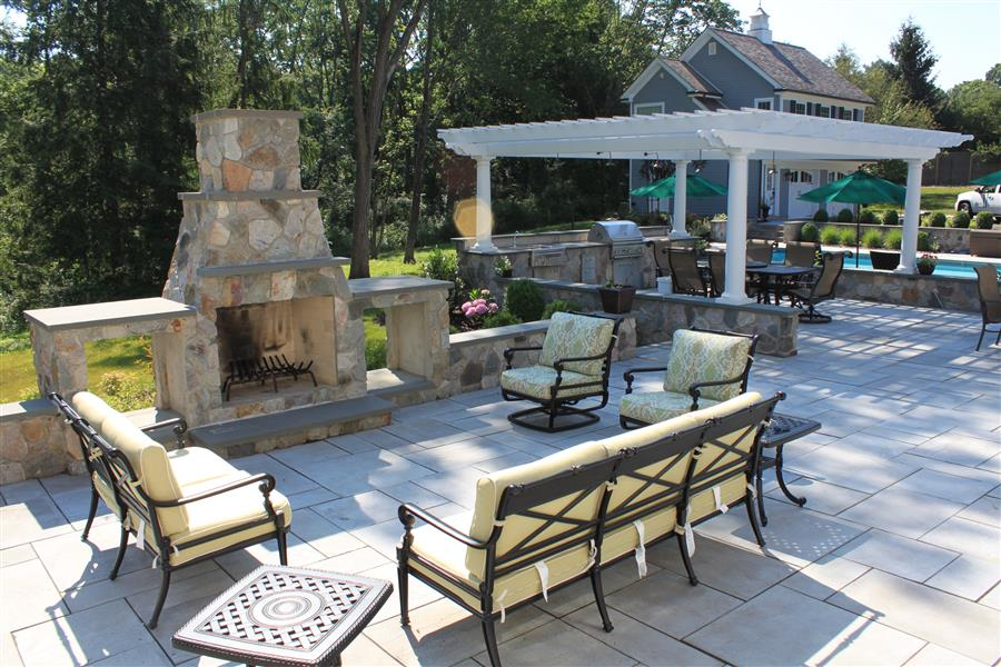 Outdoor Living Spaces - Sponzilli Landscape Group on Outdoor Kitchen Living Spaces id=41669