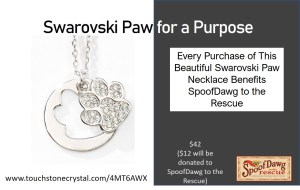 buy this necklace to help dog rescues