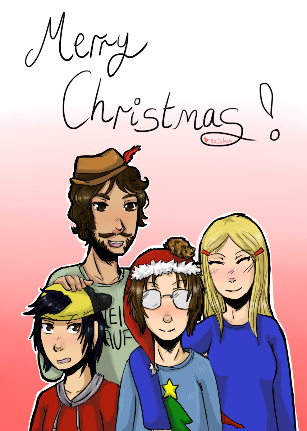 Merry Christmas from Spoofy Randomness!