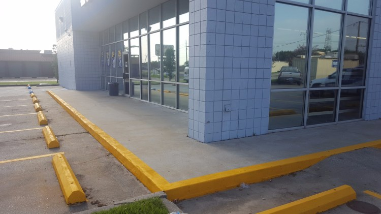 NAPA Marrero striping & parking lot pressure washing After