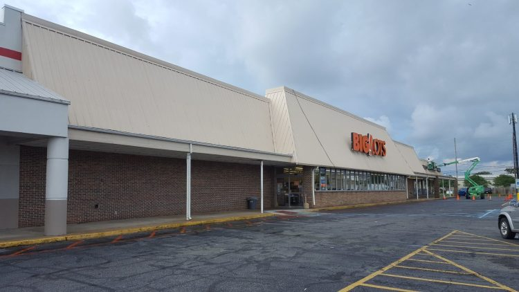 Big Lots Pressure Washing After