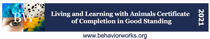 Behavior Works Badge of Completion