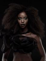 afro goth hair 2