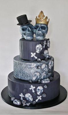 Skull And Swords Cake Ideas