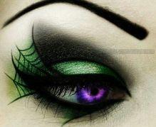 goth eye web