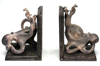 octo bookends