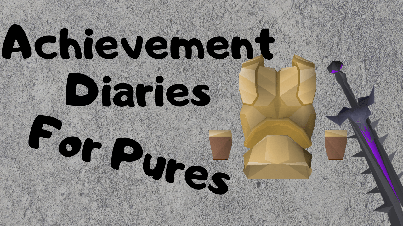 Osrs Pure Achievement Diaries Avoid Ruining Your Account With These Diaries Spooky Gaming 0:00 plant the celastrus sapling before you actually start the diary only if you have 85. osrs pure achievement diaries avoid