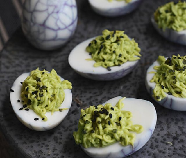 Deviled Eggs Were Made For Halloween Here Are  Spooky Recipes To Try At Your