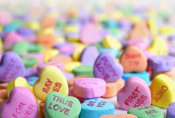 Valentine's candies