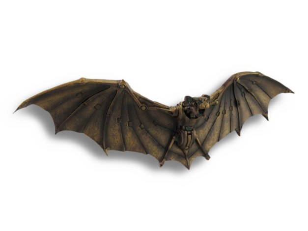 Bronzed Bat Sculpture