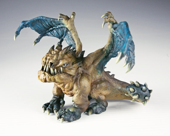 Grumpy Dragon Hatchling