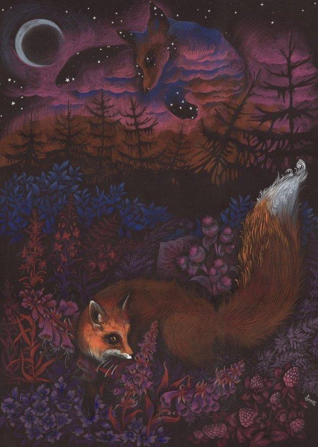 Twilight Fox