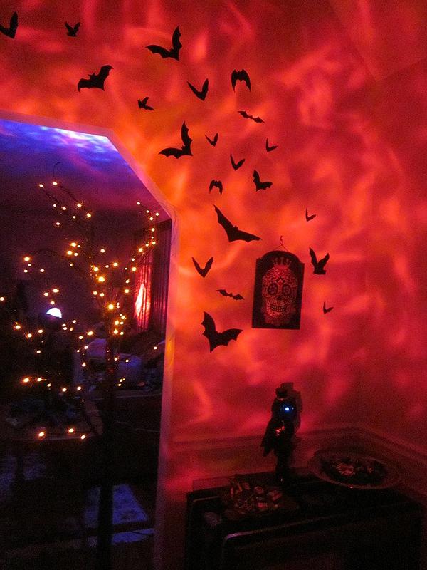 Foyer at night