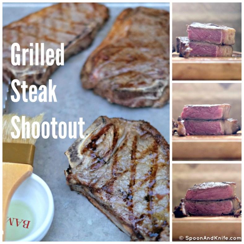 Grilled Steak Shootout - Spoon & Knife