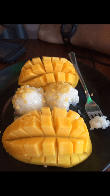 Our Mango Sticky Rice - You Guys... This Plate Is Killer