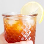 Homemade Lemon Iced Tea | SpoonfulOfButter.com