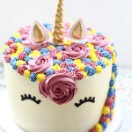 Unicorn Birthday Cake   www.SpoonfulOfButter.com