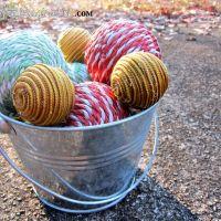 DIY Rope Balls