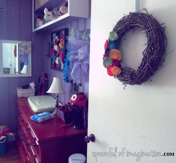 girls bedroom wall art