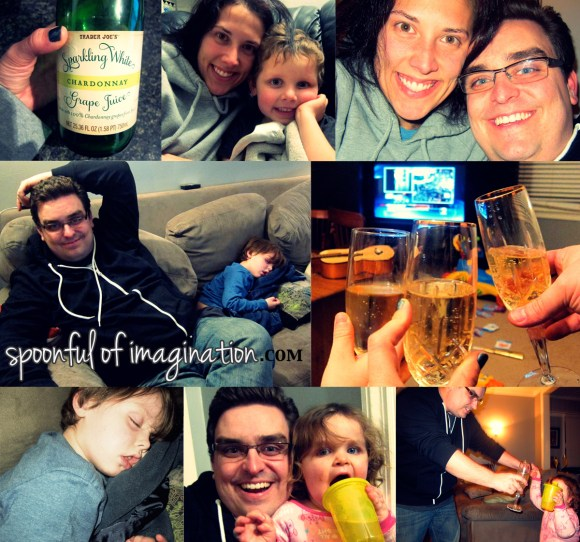 new years eve family celebrations