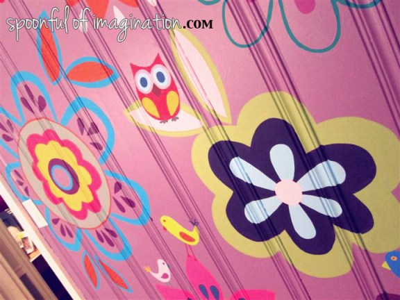 painted girls room