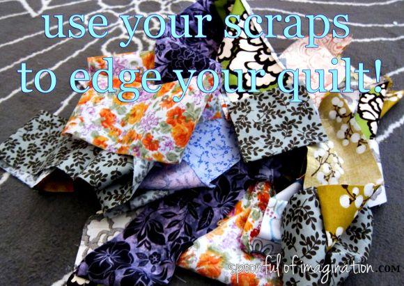 use fabric scraps