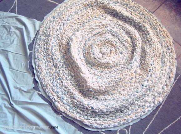 back of a rug