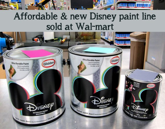 Disney Glidden Paint at Walmart