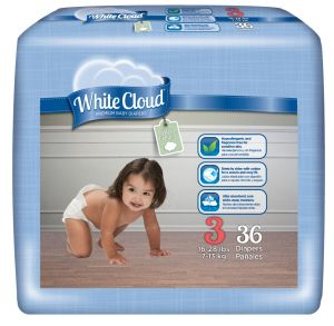 Walm-mart White Cloud Diapers