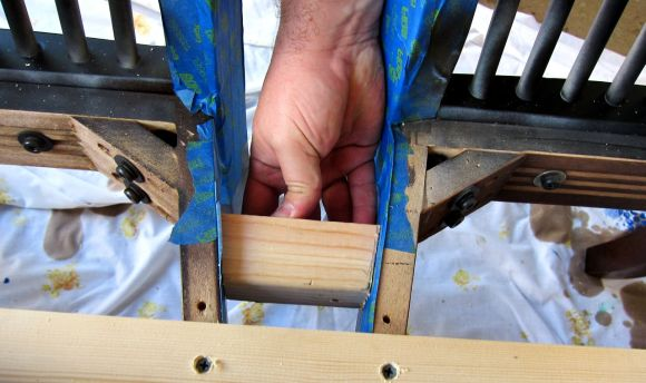 reinforcing chair legs