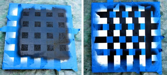 making checker boxes