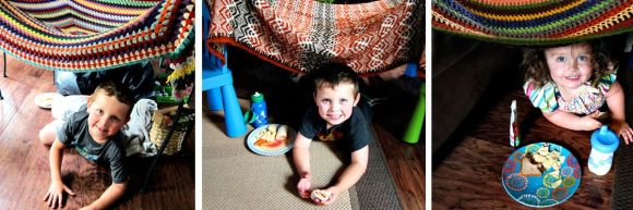 blanket tent forts