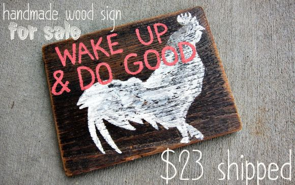 wake_up_wood_sign