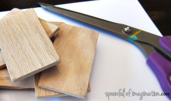 raw wood scrap
