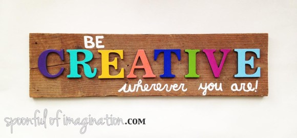 be_creative_sign