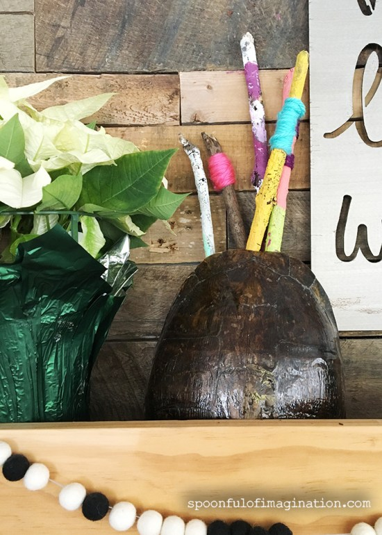 A Paint Project For All Ages: Painting Sticks