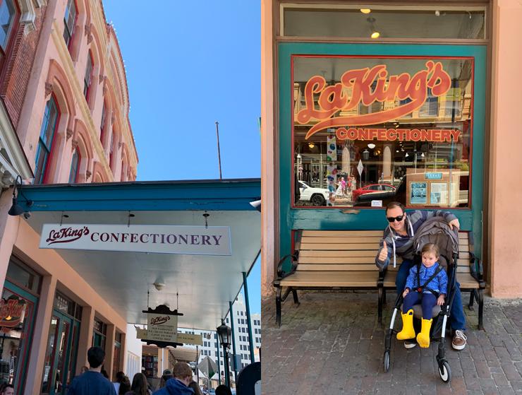 La Kings confectionery Galveston