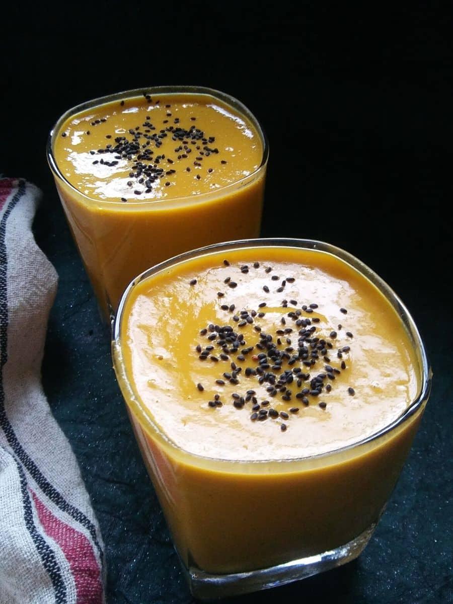 Mango Oats Smoothie Recipe