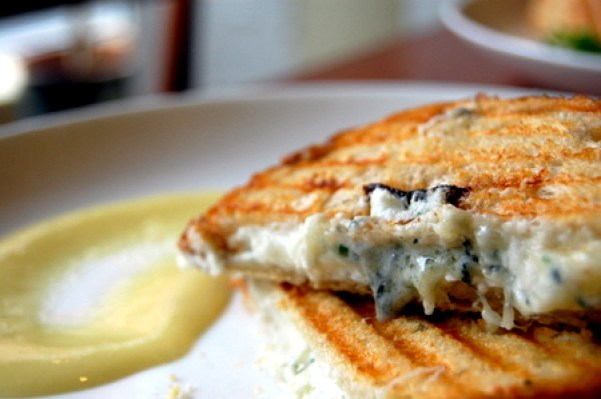 Image result for truffled grilled cheese
