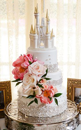 These Disney Inspired Wedding Cakes Are Jaw Dropping Disney