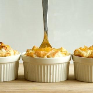 Meyer Lemon Marmalade Bread Pudding
