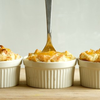Meyer Lemon Marmalade Bread Pudding