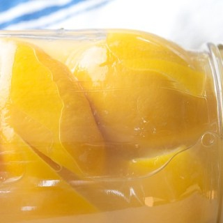 Moroccan Preserved Meyer Lemons