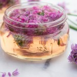 Chive Blossom Vinegar and Inviting the Hamster off the Wheel