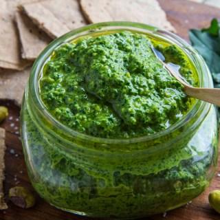Kale Pistachio Pesto